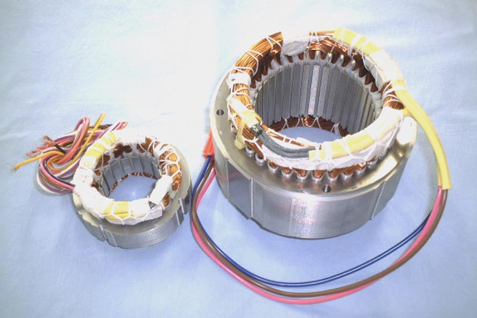 汎用ACモーター用ステーター完成品(固定子)